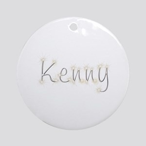 Kenny Spark Round Ornament
