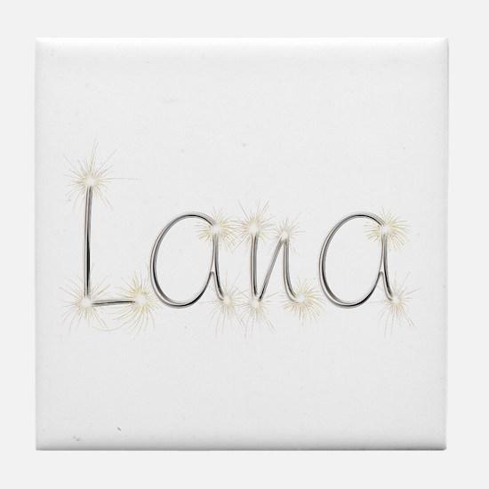 Lana Spark Tile Coaster