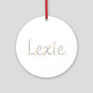 Lexie Spark Round Ornament