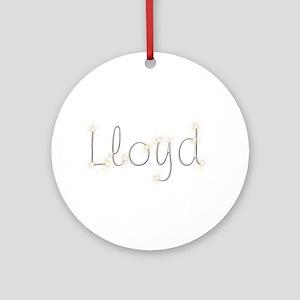 Lloyd Spark Round Ornament