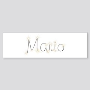 Mario Spark Bumper Sticker