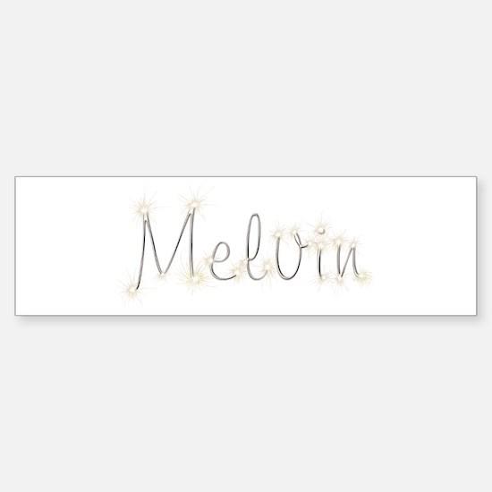 Melvin Spark Bumper Bumper Bumper Sticker