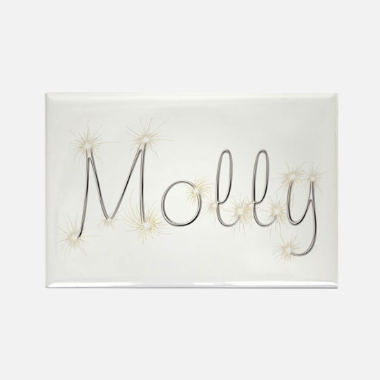 Molly Spark Rectangle Magnet