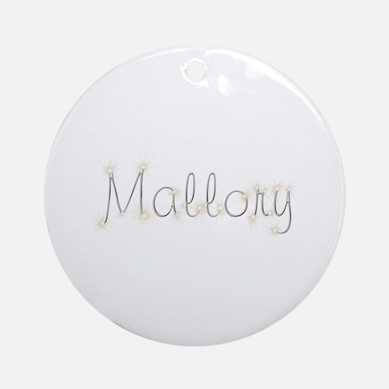 Mallory Spark Round Ornament