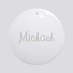 Michael Spark Round Ornament