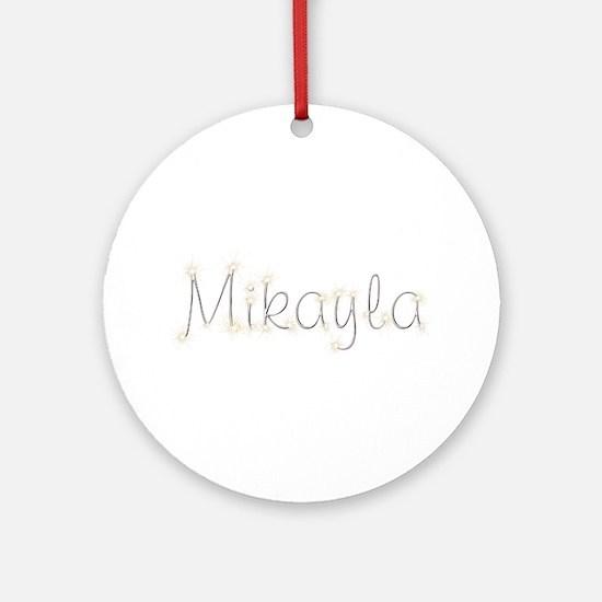 Mikayla Spark Round Ornament