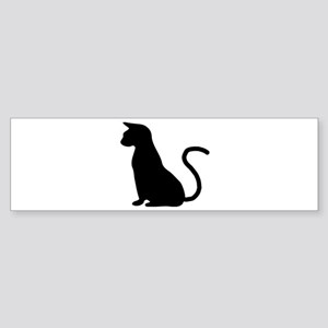 Cat Silhouette Sticker (Bumper)