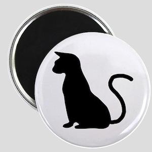 Cat Silhouette Magnet
