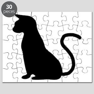 Cat Silhouette Puzzle