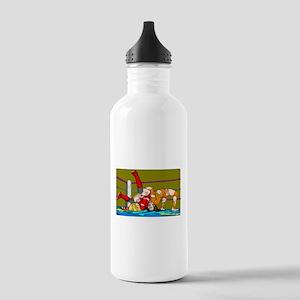 Joshi Puroresu Back Suplex Stainless Water Bottle