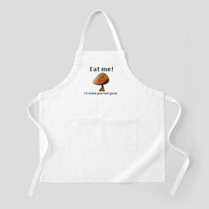 """Eat me!"" - Mushroom BBQ Apron"