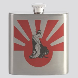 2-japanesewomansun Flask
