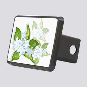 jasmineflowers2 Rectangular Hitch Cover