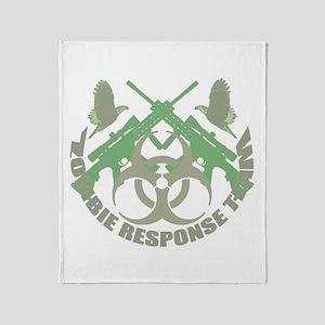 Zombie Response Team g Throw Blanket