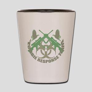 Zombie Response Team g Shot Glass