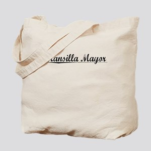 Mansilla Mayor, Aged, Tote Bag