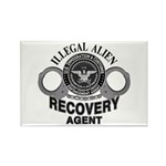 ICE ICE - IMMIGRATION & CUSTOMS Rectangle Magnet (