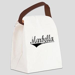Marbella, Aged, Canvas Lunch Bag