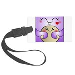 Kawaii Mother and Child Cute Hug Large Luggage Tag