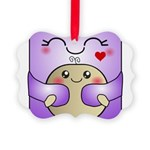 Kawaii Mother and Child Cute Hug Picture Ornament
