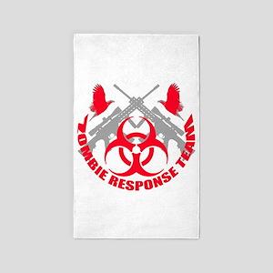 Zombie Response Team r 3'x5' Area Rug
