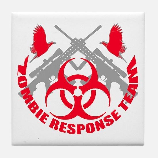 Zombie Response Team r Tile Coaster