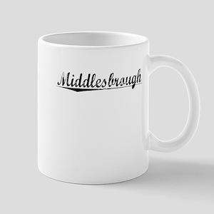 Middlesbrough, Aged, Mug