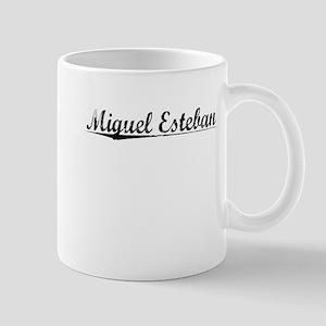 Miguel Esteban, Aged, Mug