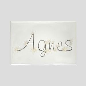 Agnes Spark Rectangle Magnet