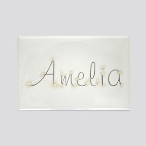 Amelia Spark Rectangle Magnet