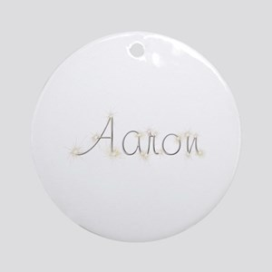 Aaron Spark Round Ornament