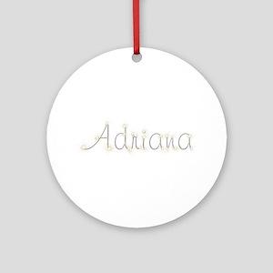 Adriana Spark Round Ornament