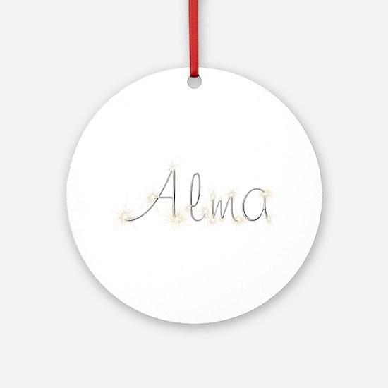 Alma Spark Round Ornament