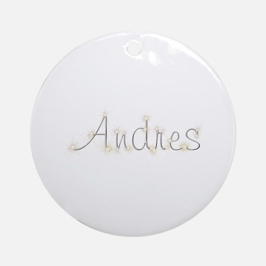 Andres Spark Round Ornament