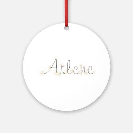 Arlene Spark Round Ornament