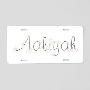 Aaliyah Spark Aluminum License Plate