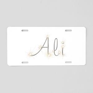 Ali Spark Aluminum License Plate