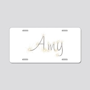 Amy Spark Aluminum License Plate