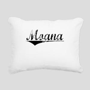 Moana, Aged, Rectangular Canvas Pillow