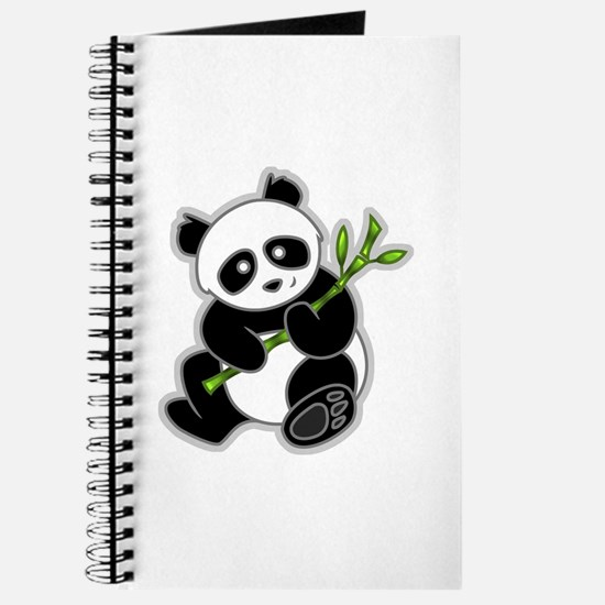 Sitting Panda Bear Journal