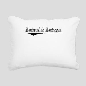 Monistrol de Montserrat, Aged, Rectangular Canvas