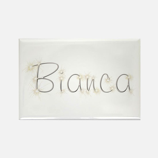 Bianca Spark Rectangle Magnet