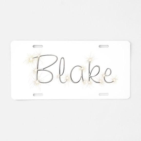 Blake Spark Aluminum License Plate