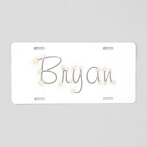 Bryan Spark Aluminum License Plate