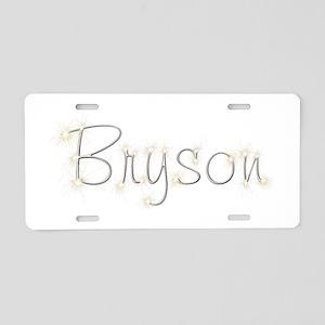 Bryson Spark Aluminum License Plate