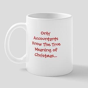 Accountant Christmas Funny Quote Mug