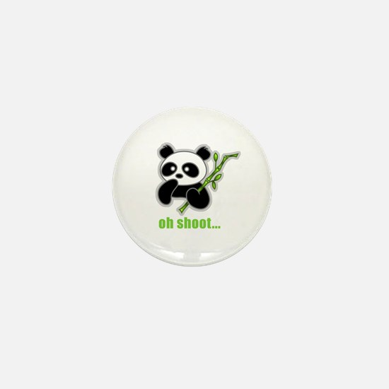 Oh Shoot! Panda Mini Button