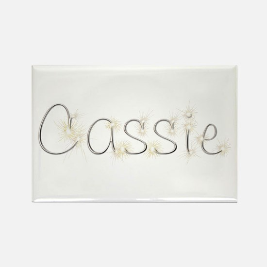 Cassie Spark Rectangle Magnet