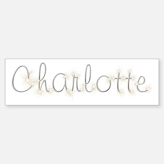 Charlotte Spark Bumper Bumper Bumper Sticker