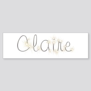 Claire Spark Bumper Sticker